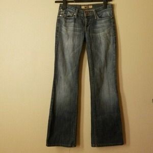 Indie Distressed Dove Pockets Jeans Womens size 25